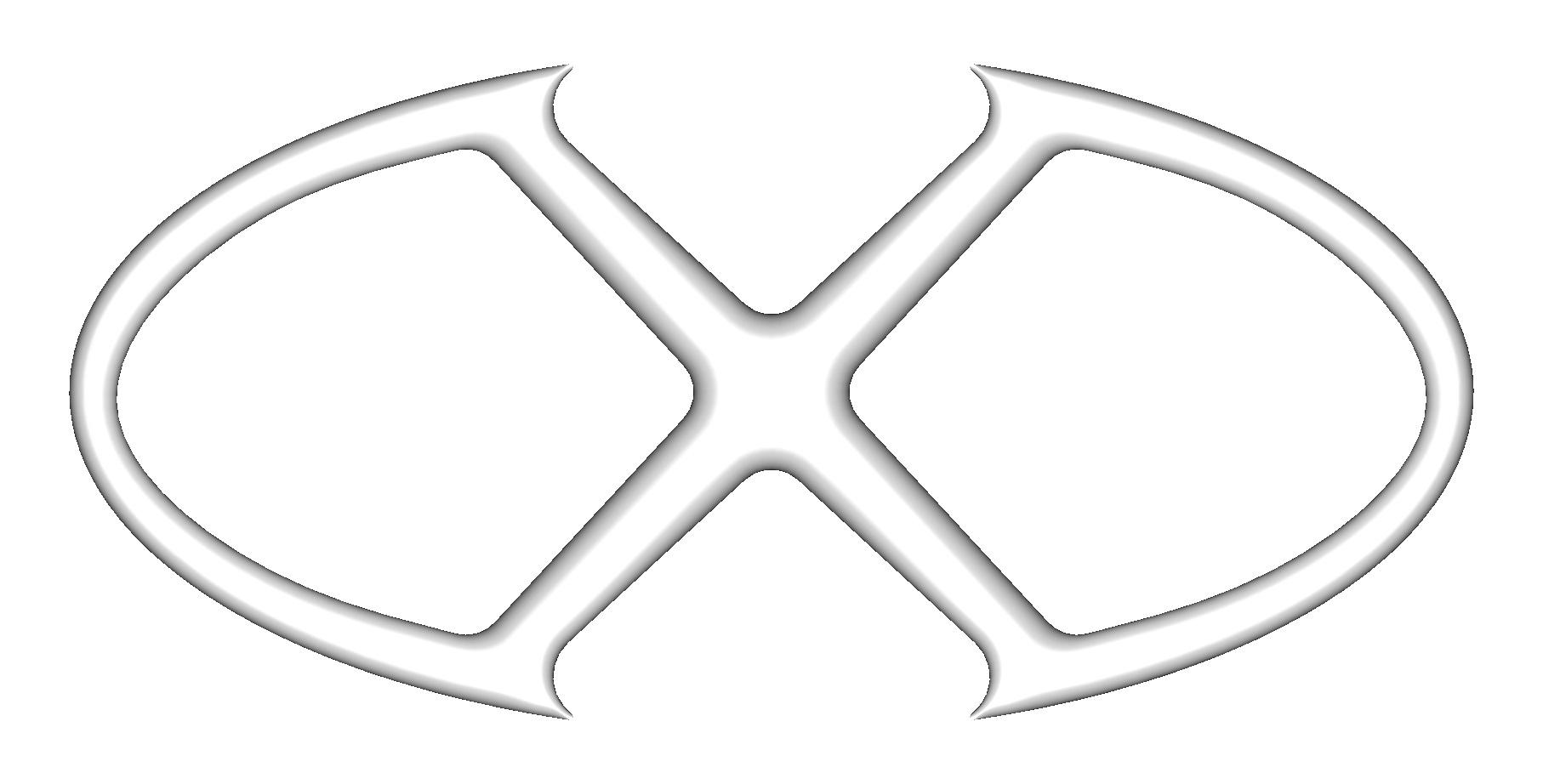 """Original logo - 16"""" Silver"""